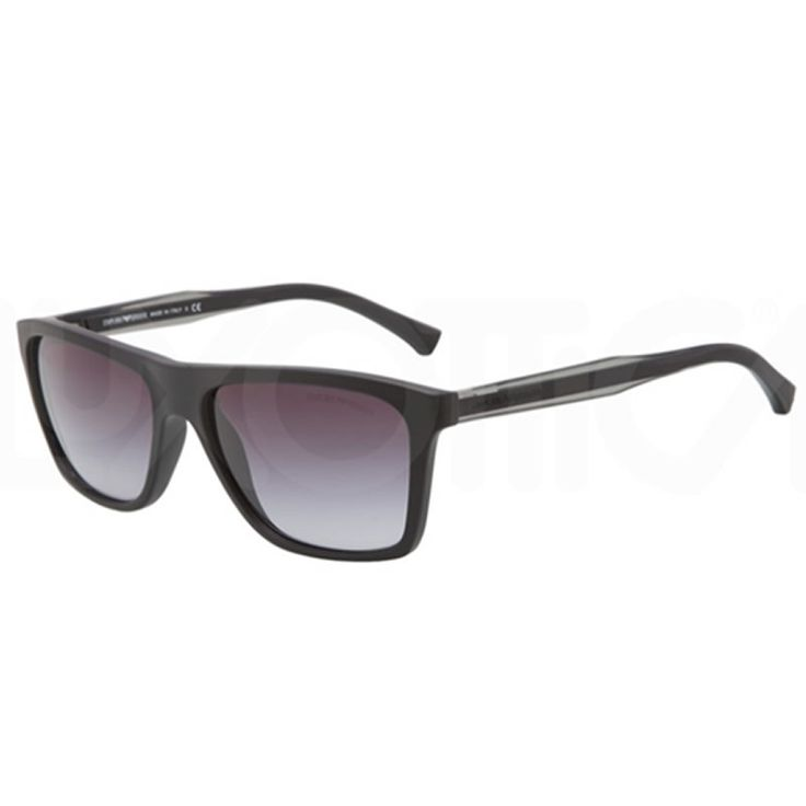 Occhiale da sole Emporio Armani EA4001 50638G con Montatura di colore Nero (Black) e Lenti di colore Grigio Gradiente (Gray Gradient)   http://www.cheocchiali.com/prodotti/occhiale-da-sole-sunglasses-emporio-armani-ea4001-50638g-nero-black