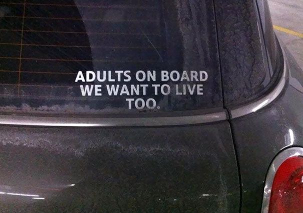 15+ Funny Bumpers Stickers That Will Make You Look Twice | Bored Panda