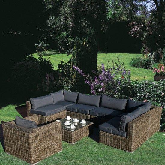 modular rattan garden furniture set 8 piece - Garden Furniture 8 Piece