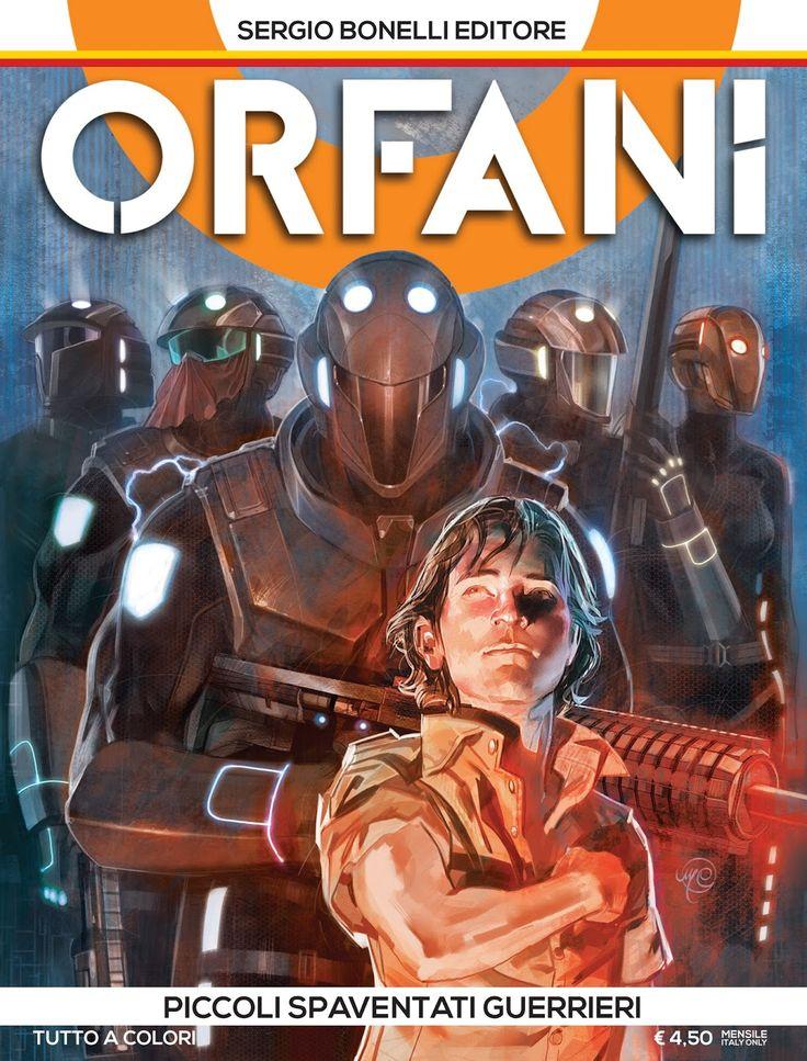 Orfani - Sergio Bonelli Editore, Roberto Recchioni, Emiliano Mammucari