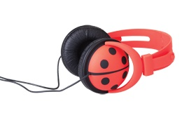 Page Two, Funkyfonic Ladybug Headphones, $49.95, Shop 75, Lower Ground, QVB.