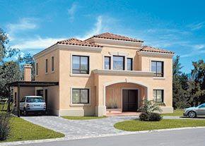 Casa clasica inspiraci n de dise o de interiores casas - Fachadas de casas clasicas ...