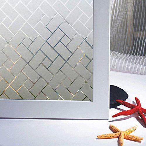 Decorative Window Film Beautyhero Non Adhesive Static Cli...