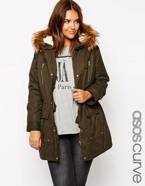 ASOS CURVE Ultimate Parka---anyone else doing fall/winter wardrobe prep???? lol