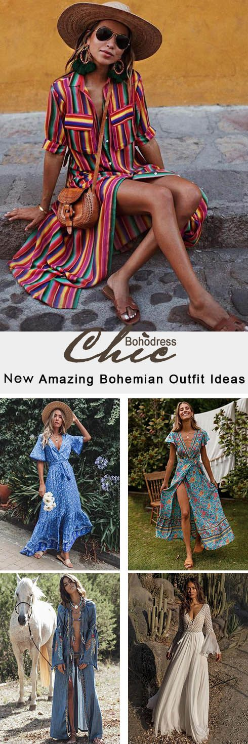 2019 Bohemian Girl's Outfits Essentials