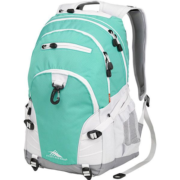 High Sierra Loop Backpack - ($22) ❤ liked on Polyvore featuring bags, backpacks, blue, school & day hiking backpacks, tablet bag, high sierra, blue backpack, backpacks bags and multi pocket backpack