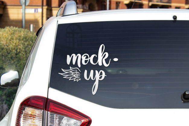 Car Rear Window Mockup Nurse Life Decal Nurse Decals Stethoscope Decal