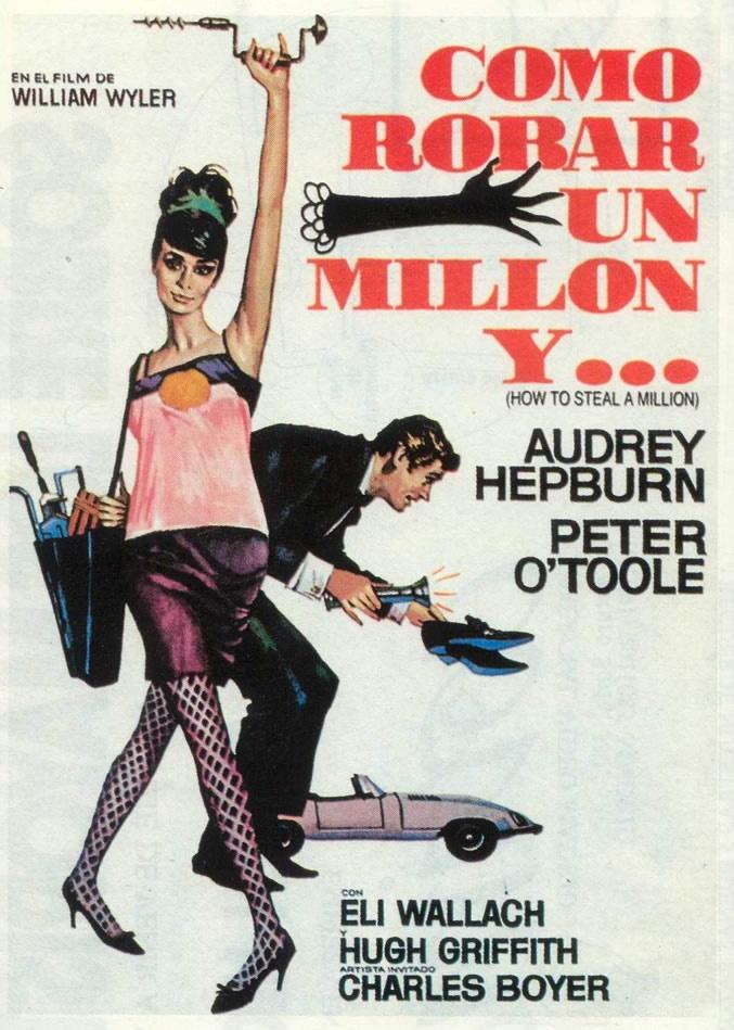 DVD CINE 701 - Cómo robar un millón (1966) EEUU. Dir: William Wyler. Romance. Sinopse: o pai de Nicole, un lendario coleccionista de arte, presta a súa prezada Venus de Cellini a un prestixioso museo parisiense. Pero a Venus non é auténtica, haa esculpido o seu avó, que era un falsificador o mesmo que o seu pai. Antes de que se descubra a estafa, Nicole contrata os servizos de Simon Demott, un ladrón de luva branca, para roubar o orixinal.