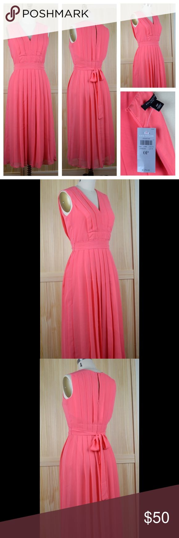 NWT Ann Taylor petite midi dress This dress is sized as 0P, but it fits 2P just as well. Ann Taylor Dresses Midi