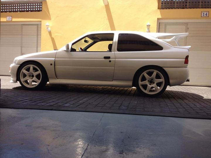 Ford Escort Cosworth white