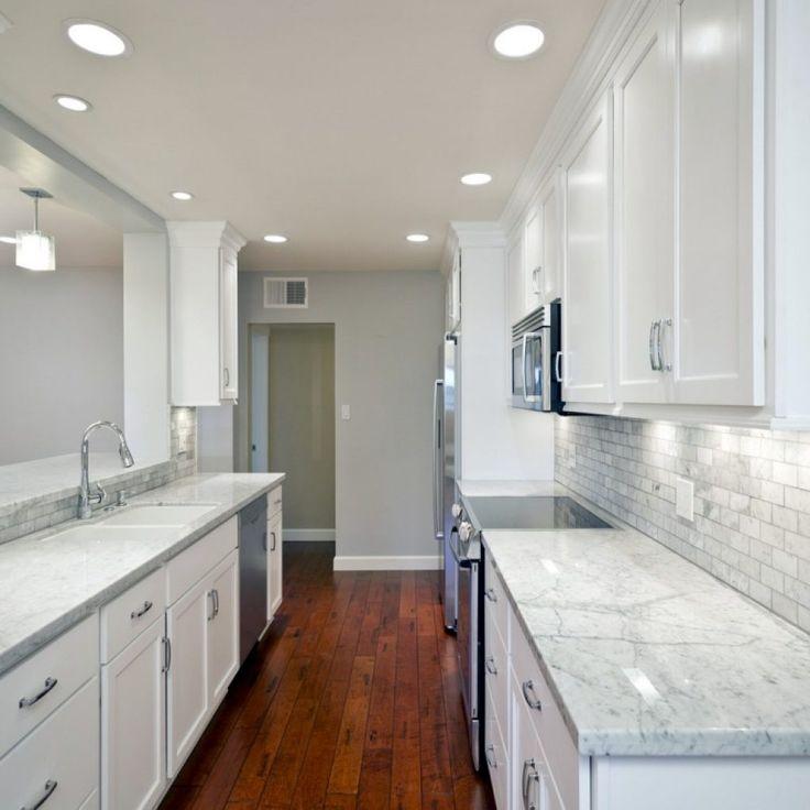 best 25 galley kitchens ideas only on pinterest Dark Wood Kitchen Cabinets and Wood Flooring Dark Kitchen Cabinets with Lighter Wood Floors