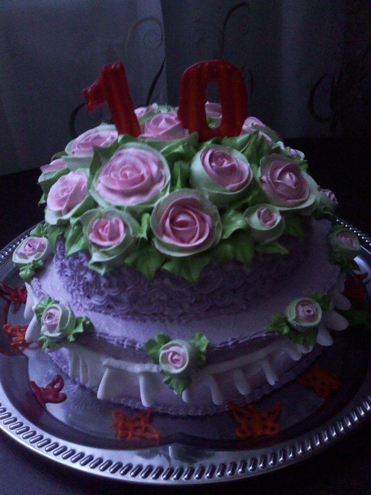 """Торт """"Цветная поляна"""" #торт_на_заказ_александрия #день_рождения #бисквитный_торт #шоколадный_торт #слоеный_торт"""