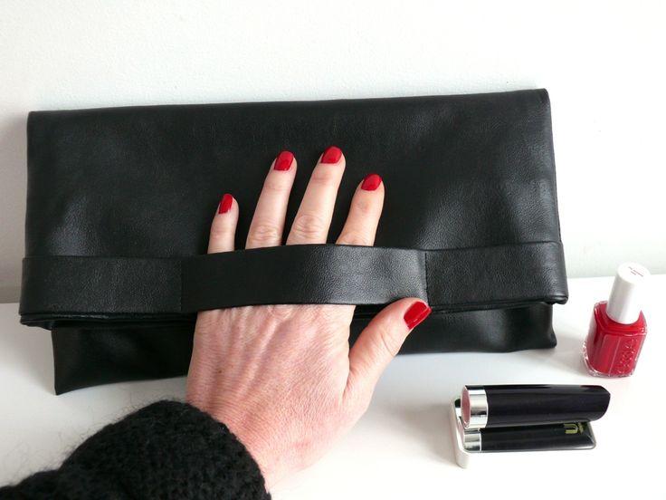 DIY: La pochette facile en simili cuir - Bee made