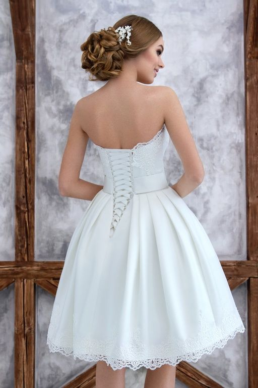 Короткие свадебные платья - Панама, wedding dress, weding