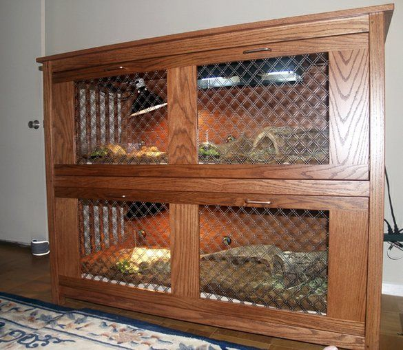tortoise cage! my tortie would LOVE this