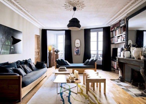 L'appartement parisien de Francois Leblanc (Gallery S. Bensimon)