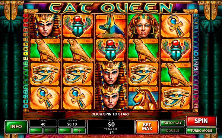 Le sujet de l'Égypte ancien n'est pas rare dans l'industrie des jeux de casino. Mais le slot Cat Queen de Playtech à 40 lignes de paiement se distingue par la qualité exceptionnelle de ses effets visuels. L'aspect fonctionnel est réalisé avec le Wild et le Scatter qui donne le droit aux free spins. Essayez-le et vous ne serez pas déçus!