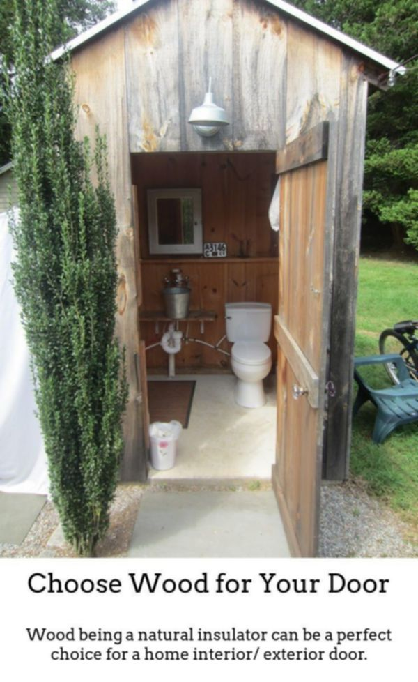 Wooden Doors Timber Doors Are Perfect If You Reside In A Period Property Or Simply Want To Add Tr Outdoor Bathroom Design Outhouse Bathroom Outdoor Bathrooms