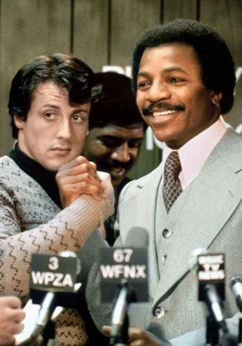 Rocky and Apollo //    Still one of the GREATEST MOVIES PF ALL TIME.....even after watching it 150 times.....