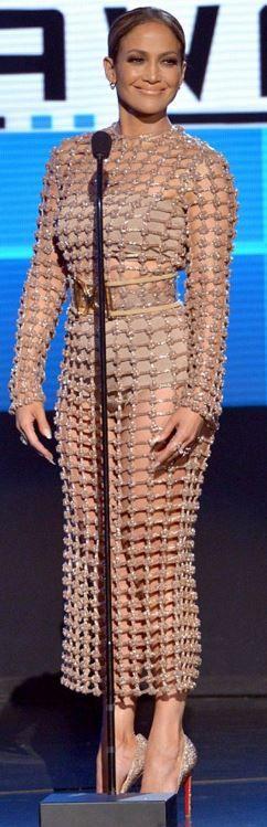Jennifer Lopez: Dress – Balmain Shoes – Christian Louboutin