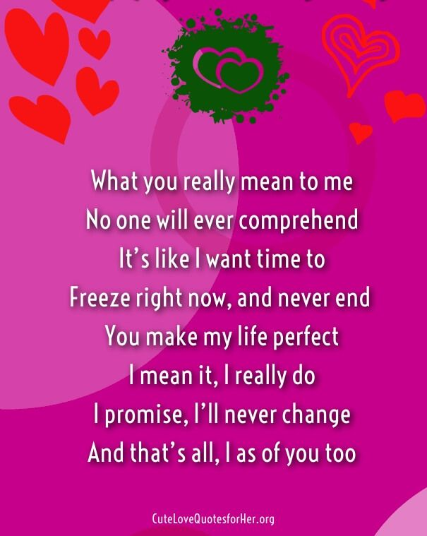 Love Poems For Your Boyfriend Recipes Poems For Your