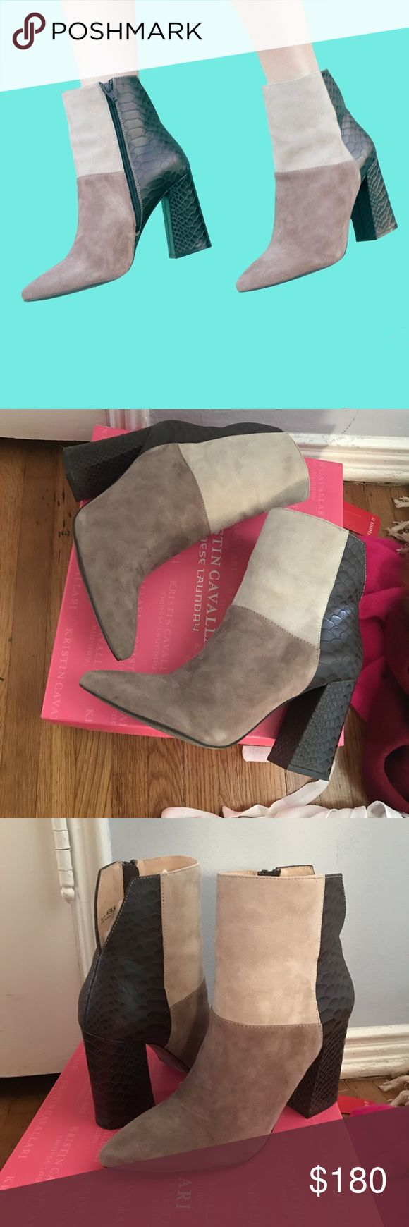 Chinese laundry Kristin cavalari boots size 8 These were worn once for a picture that's it. Comes with box. Orig $225 Chinese Laundry Shoes