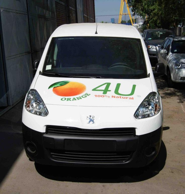 Brandeo camioneta Orange 4U
