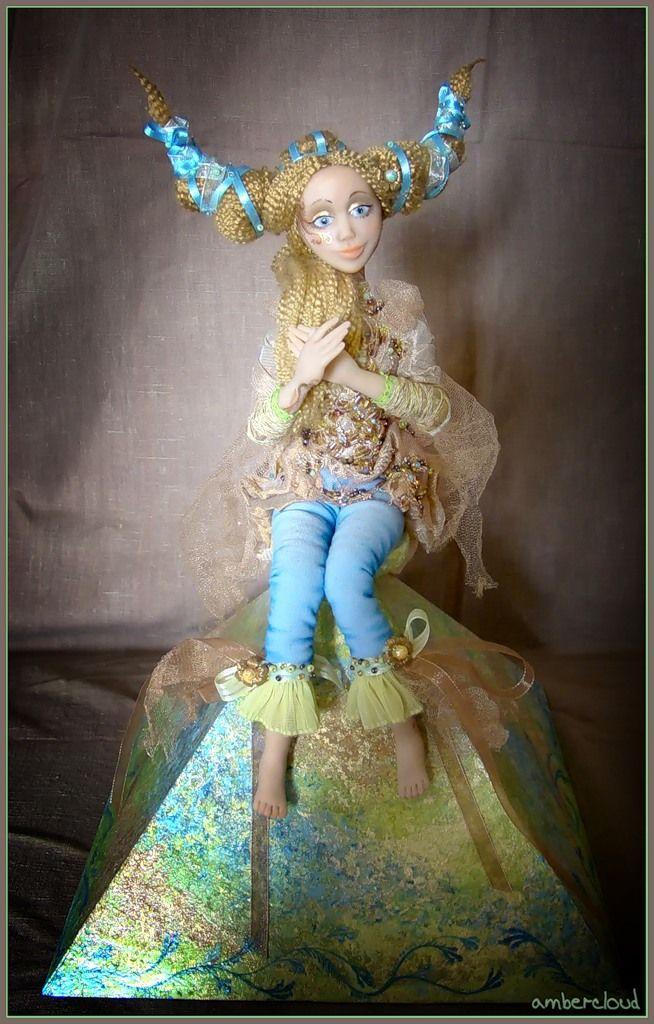Коллекция Времена Года - Весна *** doll, dollart, hand made, ©ambercloud, авторская кукла