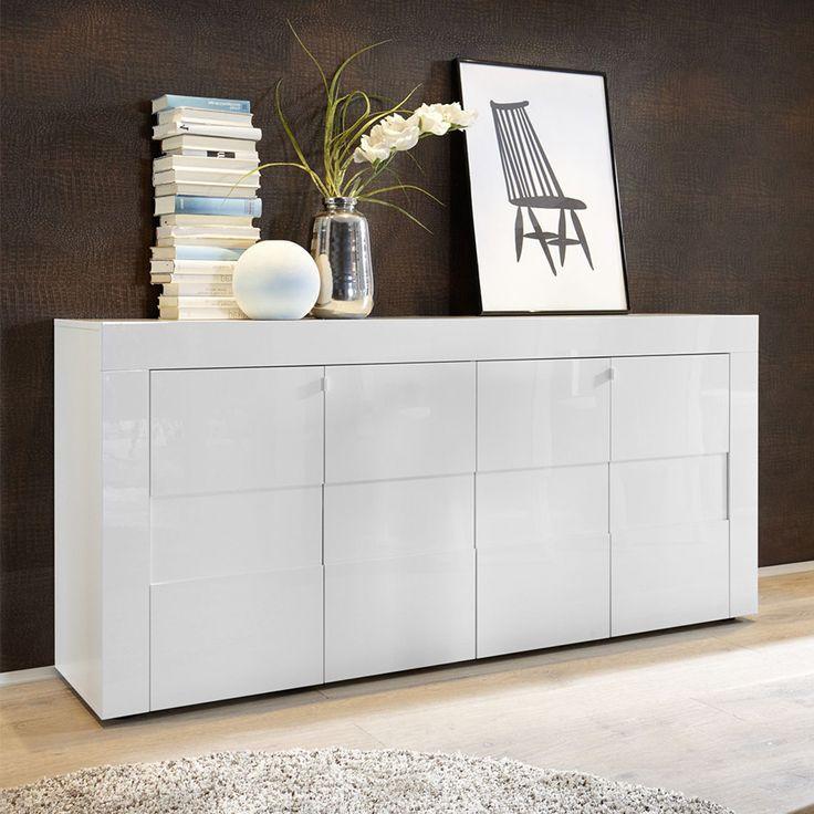 les 25 meilleures id es concernant buffet blanc laqu sur pinterest buffet laqu bureau blanc. Black Bedroom Furniture Sets. Home Design Ideas