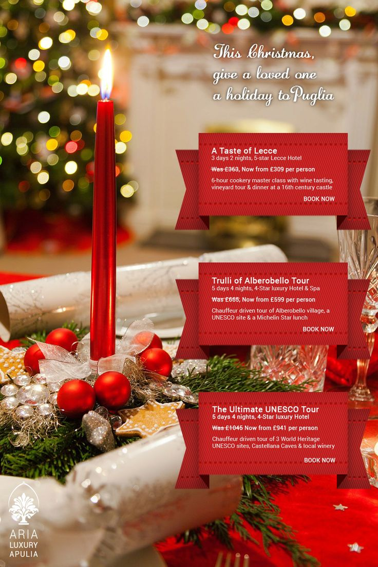 This #Christmas, give a loved one a holiday to Puglia, Italy. http://arialuxuryapulia.com/project/special-offers/ … #theperfectgift