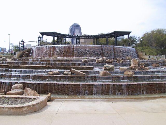 Shreveport riverfront Fountain, Shreveport, Louisiana