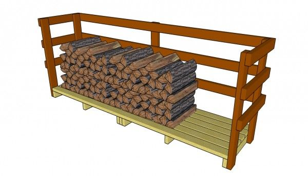 Woodshed ideas...this would be good to have next to the