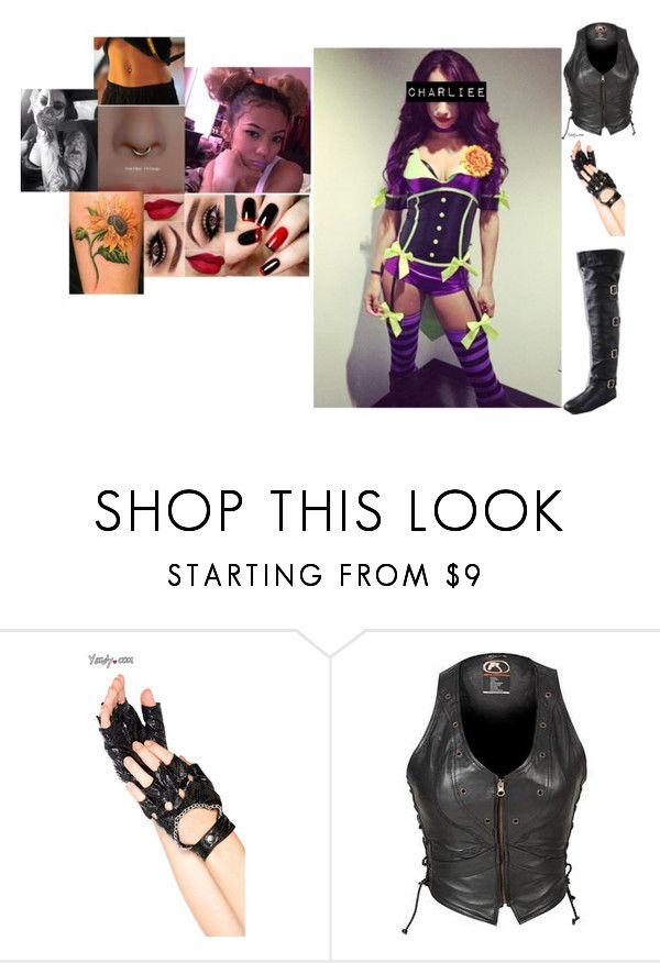 """""""⚫️ Introducing...⚫️- Charliee Banks"""" by iron-maiden-amy ❤ liked on Polyvore featuring Lara, WWE, OC, NXT and wweoc"""