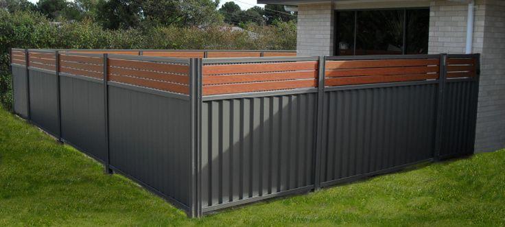 Breezeway Colorbond Fencing  Landscape Brisbane  Fence