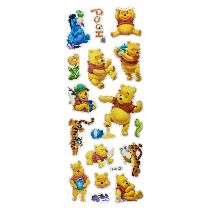 Planche Stickers Disney Winnie l'Ourson