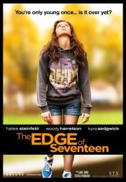 """The Edge of Seventeen        The Edge of Seventeen      Ocena:  7.70  Žanr:  Comedy Drama  """"You're only young once... is it over yet?""""Everyone knows that growing up is hard and life is no easier for high school junior Nadine (Hailee Steinfeld) who is already at peak awkwardness when her all-star older brother Darian (Blake Jenner) starts dating her best friend Krista (Haley Lu Richardson). All at once Nadine feels more alone than ever until the unexpected friendship of a thoughtful boy…"""