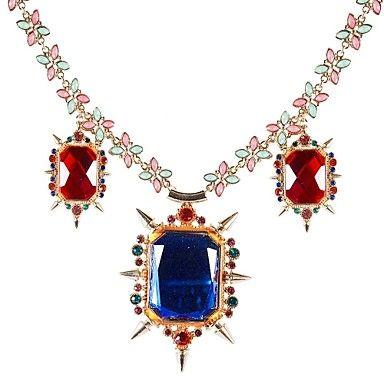 JANE STONE Fashion Luxury Crystal Pendant Women Necklace  – AUD $ 38.29