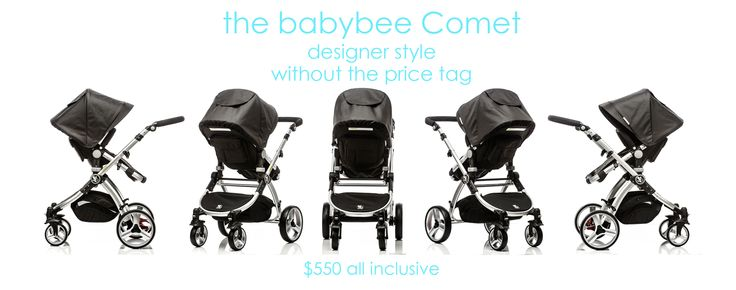the babybee comet, designer style, without the price tag