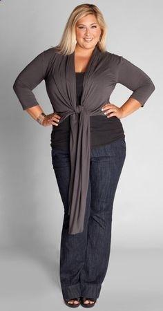 fashion looks for older plus size women - Google Search
