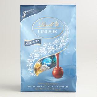 Lindt Lindor 3 Flavor Caramel Truffle Bag