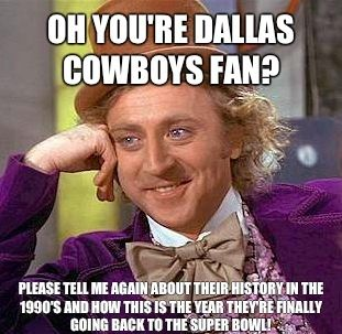 Funny Memes about Dallas cowboys