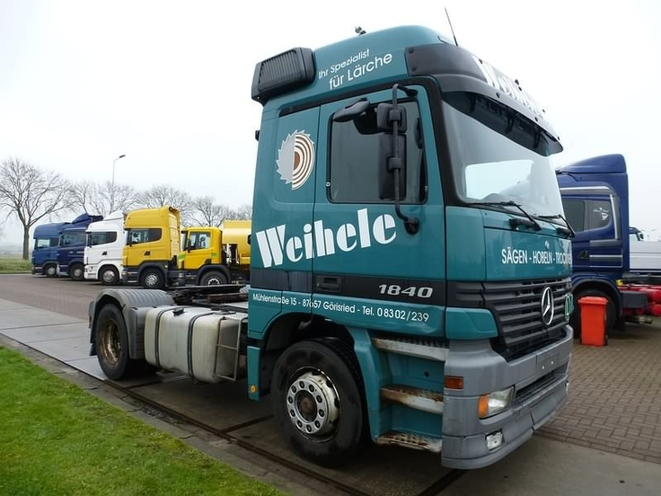 For sale: Used and second hand - Tractor unit MERCEDES-BENZ 1840