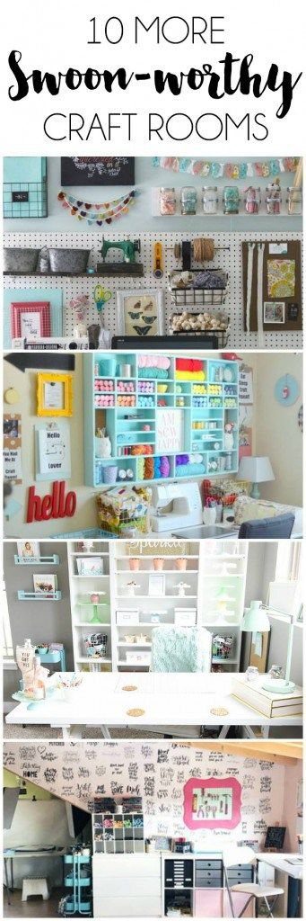 Inspirational Craft rooms