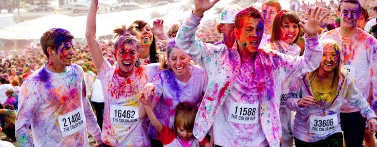The Color Run 5K - Looks so fun!
