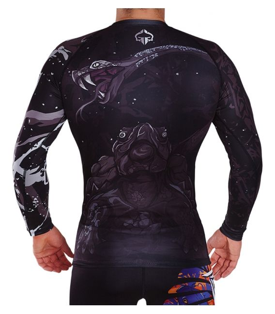 "Rashguard ""Black Turtle"""