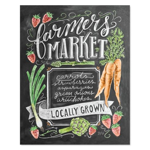 Spring Farmers Market - Print