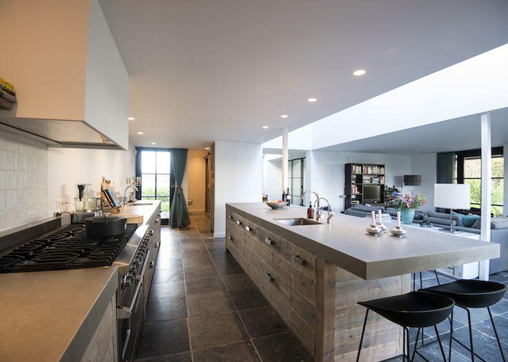 Kookeiland Keuken Houten : 36 best houten keukens met kookeiland images on pinterest kitchen