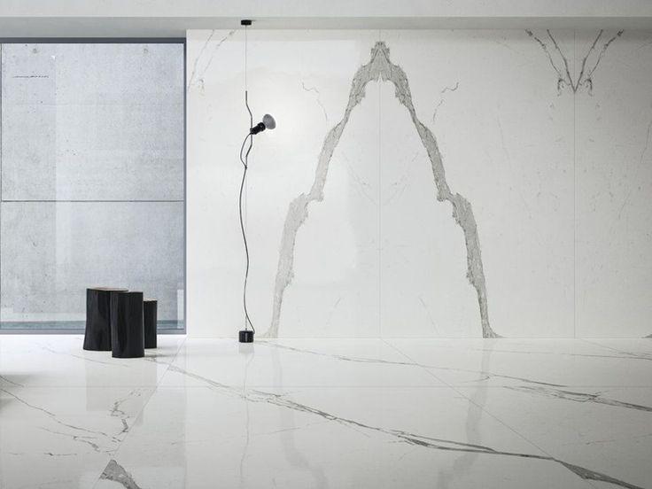 Wall/floor tiles with marble effect ULTRA MARMI │Statuario ultra ULTRA MARMI Collection by ARIOSTEA
