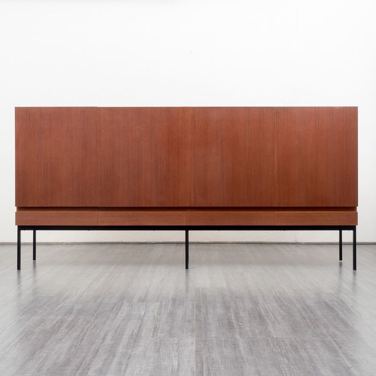 60er Jahre Highboard, Teak, Dieter Waeckerlin für Behr....god this is beautiful
