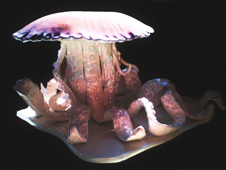 Luca Canavicchio. Medusa, maiolica